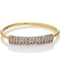 Ileana Makri - Half Crown Ring Size 7 - Lyst