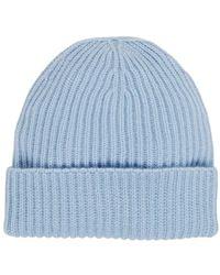 Barneys New York - Rib-knit Cashmere Beanie - Lyst