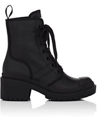 Marc Jacobs - Bristol Coated Twill Ankle Boots - Lyst