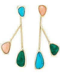 Pamela Love - Pilar Small Drop Earrings - Lyst