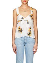 A.L.C. - Nova Floral Silk Top - Lyst