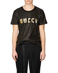 Gucci - Star- & guccy-print Cotton T - Lyst
