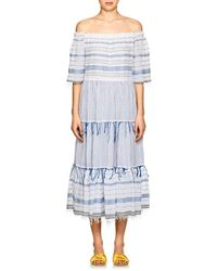 lemlem - Tiki Striped Cotton Maxi Dress - Lyst