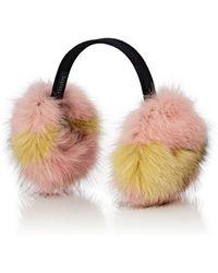 Barneys New York - Fox Fur Earmuffs - Lyst
