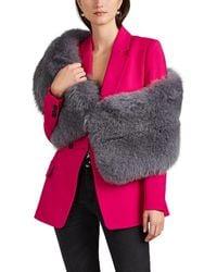 Lilly E Violetta Limited Edition Fox Fur Stole