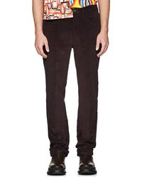 Prada - Cotton Corduroy 5-pocket Trousers - Lyst