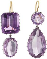 Renee Lewis | Mismatched Amethyst Double | Lyst