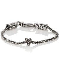 Emanuele Bicocchi - Knotted Chain Bracelet - Lyst