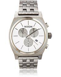 Nixon - Time Teller Chrono Watch - Lyst