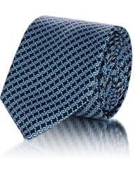 Barneys New York - Twisted Rope Silk Satin Necktie - Lyst