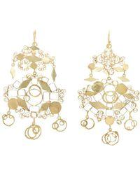 Judy Geib - Studio Sweep Chandelier Earrings - Lyst