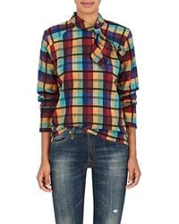 Ace & Jig - Jackie Checked Cotton Top - Lyst