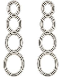 Pamela Love | Four Circle Drop Earrings | Lyst