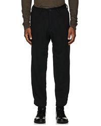 Yohji Yamamoto - Wool-blend Knit Slim Trousers - Lyst