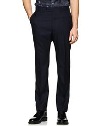 Officine Generale - Jacques Worsted Wool Straight-leg Trousers - Lyst
