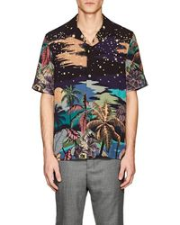 Paul Smith - Hawaiian Night Sky Bowling Shirt - Lyst