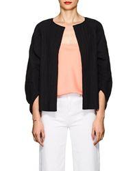 Zero + Maria Cornejo - Beetle Shrug Cotton-blend Jacket - Lyst