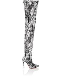 1654d2165cf Christian Louboutin - Gravitissima Over-the-knee Boots - Lyst