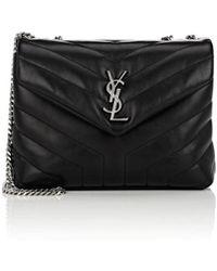 Saint Laurent - Monogram Loulou Small Leather Shoulder Bag - Lyst