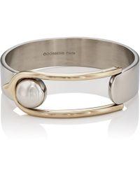 Goossens Paris - Bicolor Boucle Bracelet - Lyst