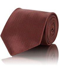 Brioni - Chevron-weave Silk Necktie - Lyst