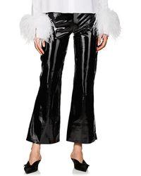 16Arlington - Kick Flare Patent Leather Pants - Lyst