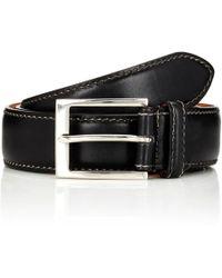 Harris - Contrast-stitched Belt - Lyst