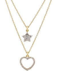 Renee Lewis - Star- & Heart-pendant Two - Lyst