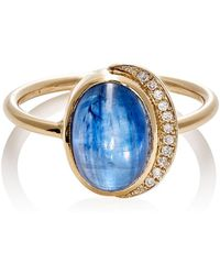 Feathered Soul - Oval Cabochon Ring Size 7 - Lyst
