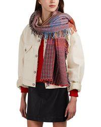 Wallace Sewell - Ladbroke Basket-weave Wool Wrap - Lyst