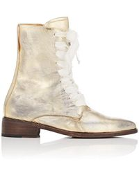 Esquivel - London Distressed Leather Lace - Lyst