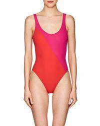 Araks - Harley Colorblocked One-piece Swimsuit - Lyst