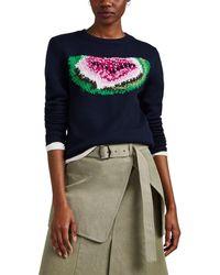 JW Anderson - Watermelon-intarsia-knit Wool Sweater - Lyst