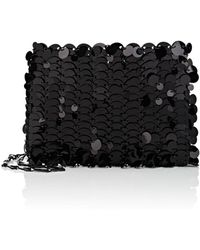 Paco Rabanne - Iconic Leather Chain Bag - Lyst