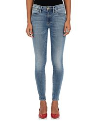 FRAME Le High Skinny Jeans - Blue