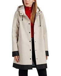 Stutterheim Mosebacke Colorblocked Cotton-blend Raincoat