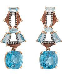 Nak Armstrong - Suspender Drop Earrings - Lyst