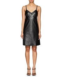 Helmut Lang - Leather Dress - Lyst