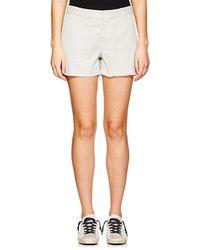 Nili Lotan - Carpenter Stretch-cotton Shorts - Lyst