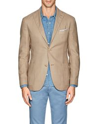 Boglioli - k Jacket Virgin Wool-blend Hopsack Two - Lyst