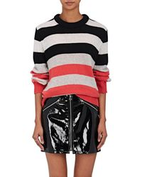Rag & Bone - Annika Striped Cashmere Jumper - Lyst