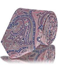 Barneys New York - Paisley Silk Jacquard Necktie - Lyst