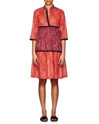 Warm - August Cotton Voile Dress - Lyst