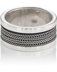 Emanuele Bicocchi - Sterling Silver Layered Band - Lyst