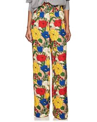 Vivetta - Henning Floral Trousers - Lyst