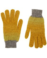 Missoni - Striped Knit Gloves - Lyst