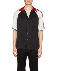 Gucci - Logo-detailed Silky Twill Bowling Shirt - Lyst