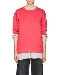 Acne Studios - Fairview Emoji Cotton Sweatshirt - Lyst
