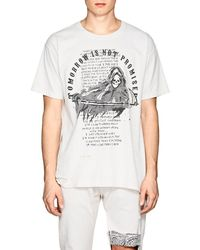 Warren Lotas - tomorrow Is Not Promised Cotton T-shirt - Lyst