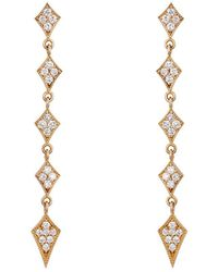 Sara Weinstock - Marquis Linear Drop Earrings - Lyst